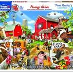 White Mountain Puzzles Funny Farm - 1000 pc