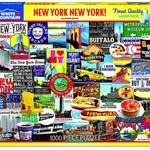 White Mountain Puzzles New York New York! 1000 pc