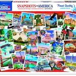 White Mountain Puzzles Snapshots of America - 1000 pc