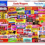 White Mountain Puzzles Candy Wrappers 1000 Pieces