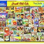 White Mountain Puzzles Great Old Ads 1000 pc