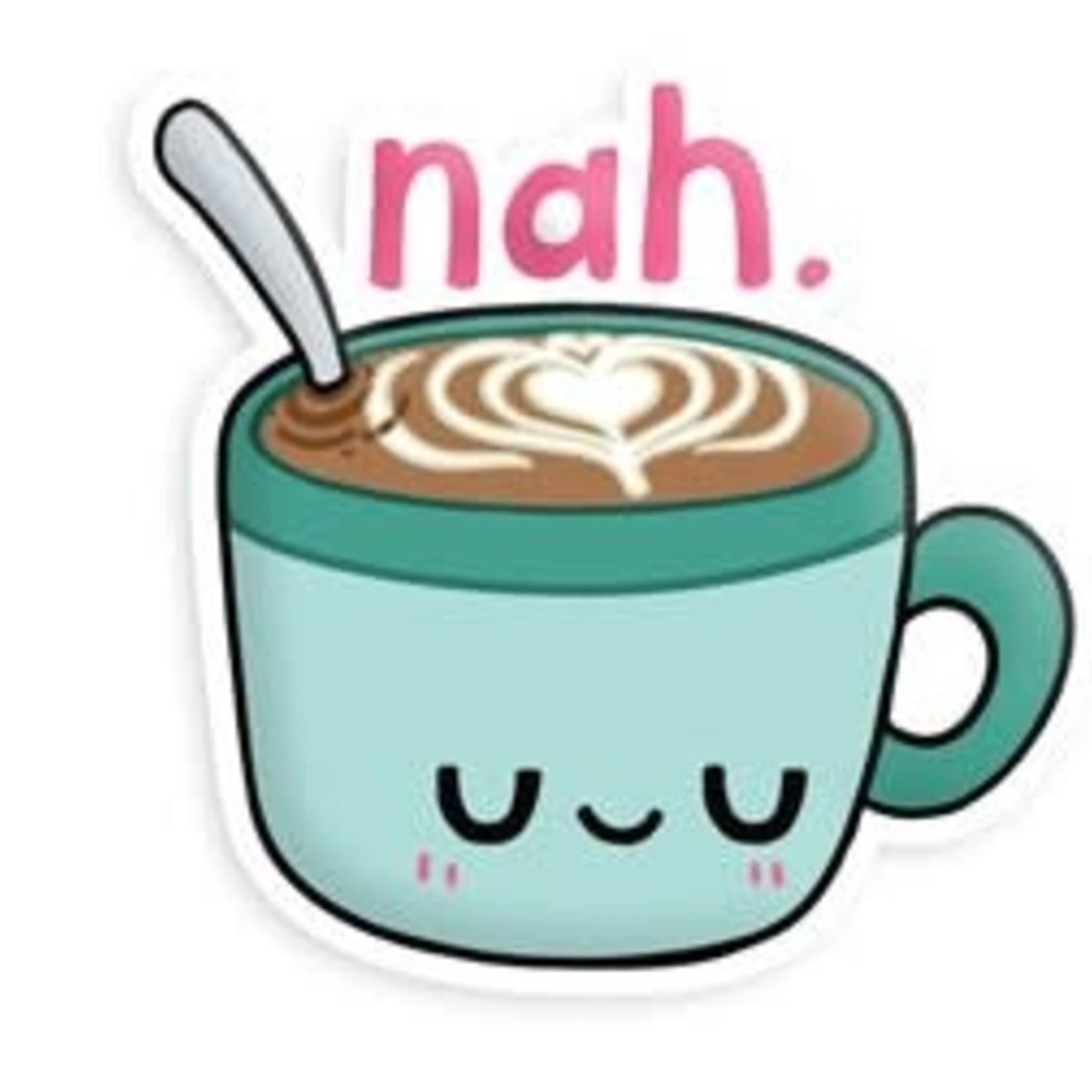 Squishable Nah Hot Chocolate Sticker