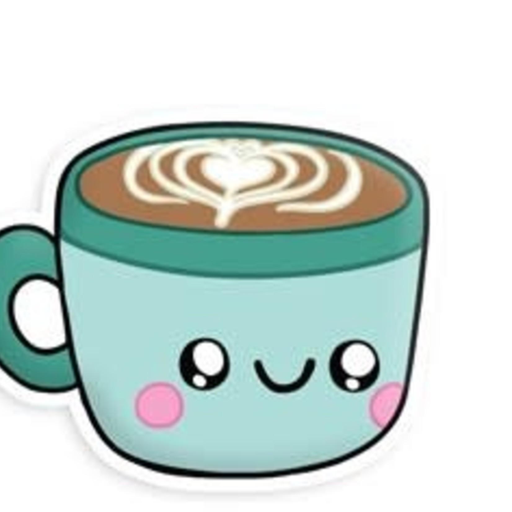Squishable Latte Sticker