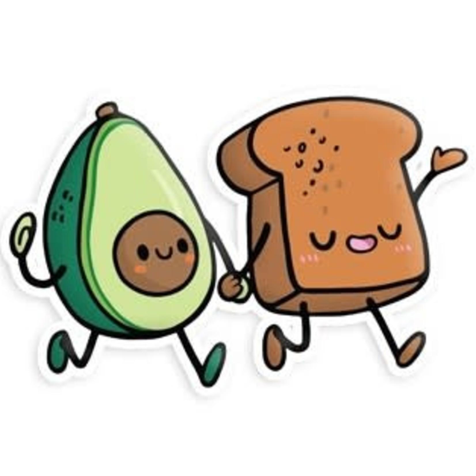 Squishable Avocado & Toast BFF Sticker