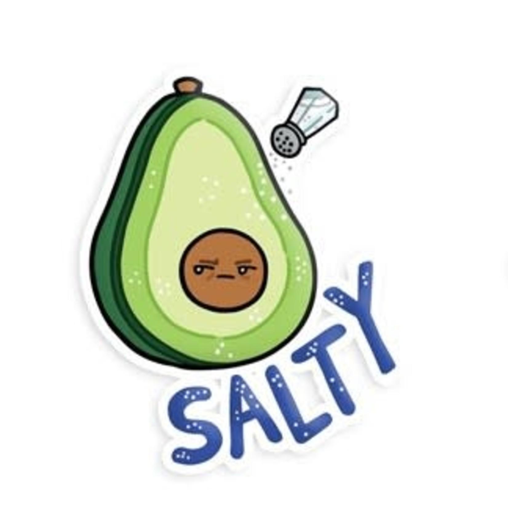 Squishable Salty Avocado Stickers