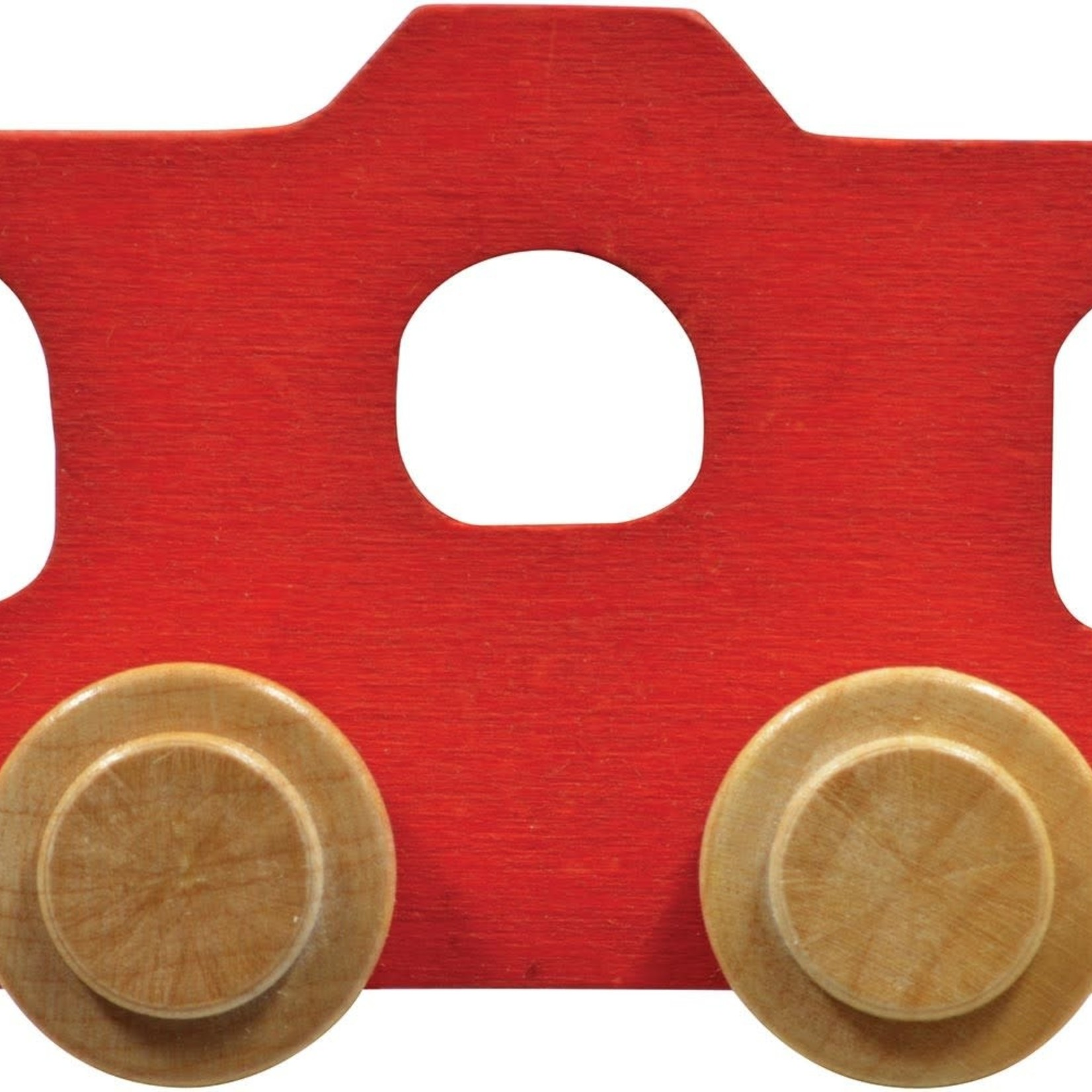 Maple Landmark Name Train - Caboose