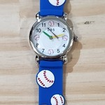D&S Imports Watch - Play Ball, Blue