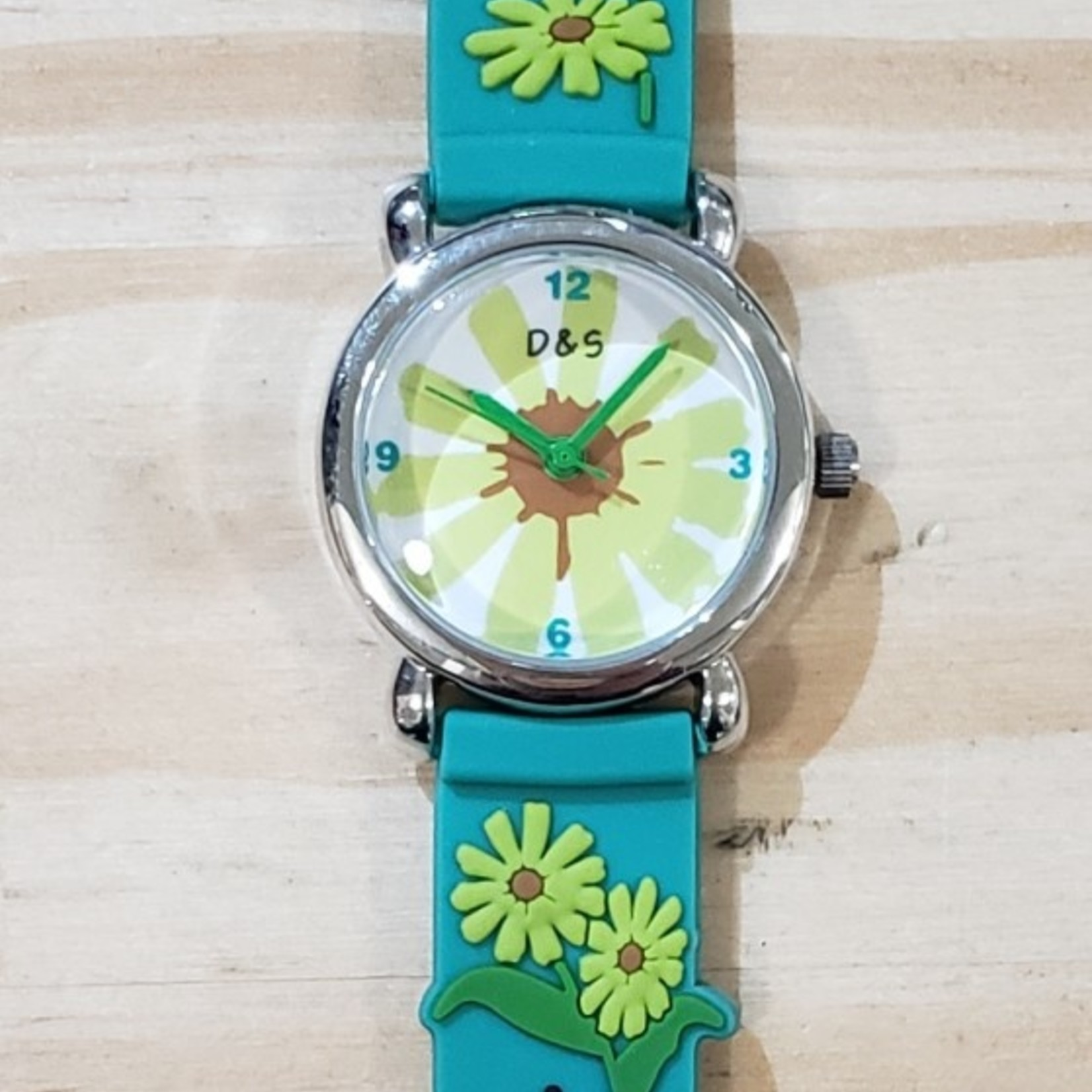 D&S Imports Watch - Sunflowers & Lady Bugs
