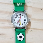 D&S Imports Watch - Soccer, Green