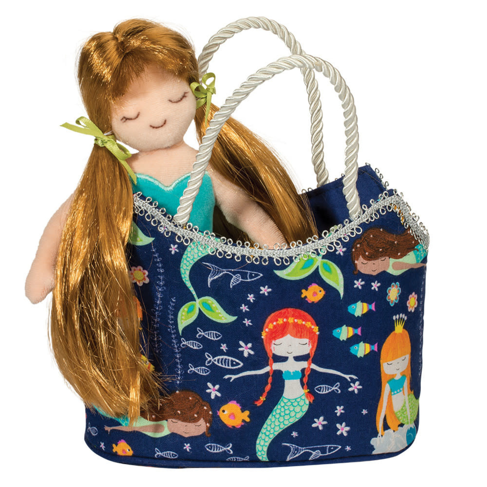 Douglas Glitter Mermaid Sak