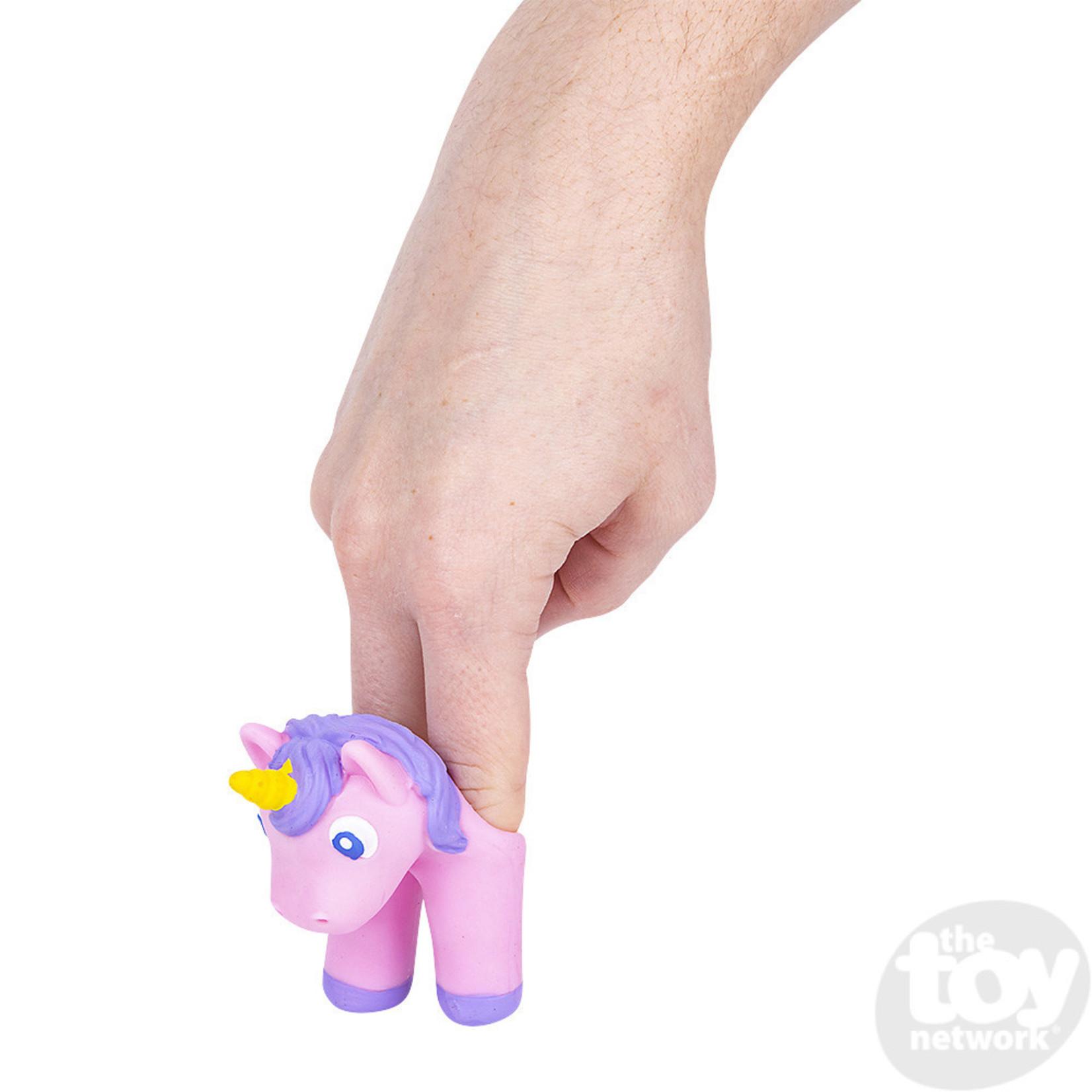 Toy Network Walking Finger Puppets - Unicorn