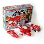 Popular Playthings Mix or Match Vehicles - Fire/Rescue