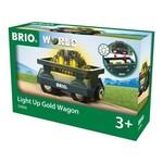 Brio Light Up Gold Wagon