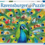 Ravensburger Land of the Peacock - 2000 pc