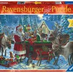 Ravensburger Packing the Sleigh - 1000 pc