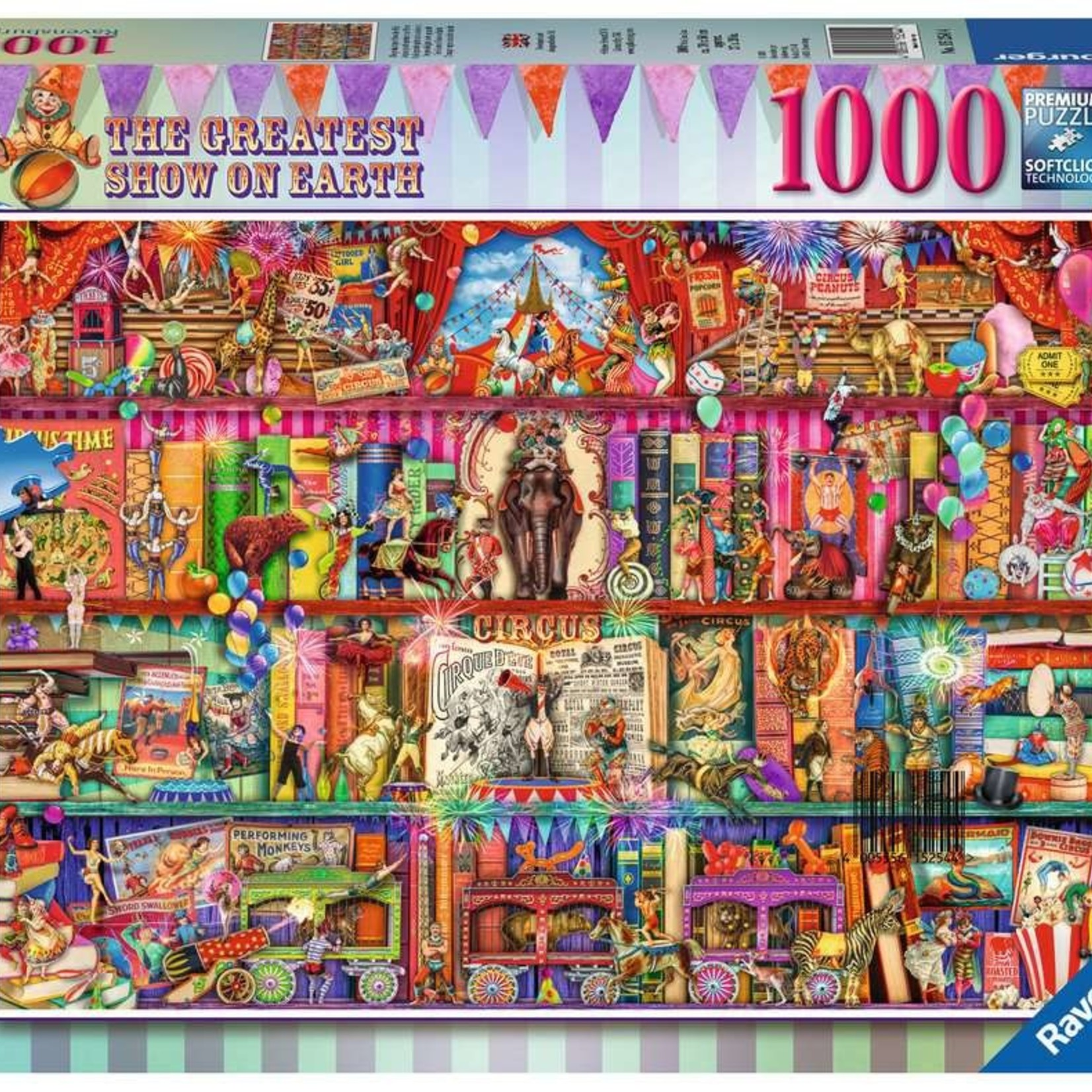 Ravensburger The Greatest Show on Earth - 1000 pc