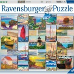 Ravensburger Coastal Collage - 1500 pc