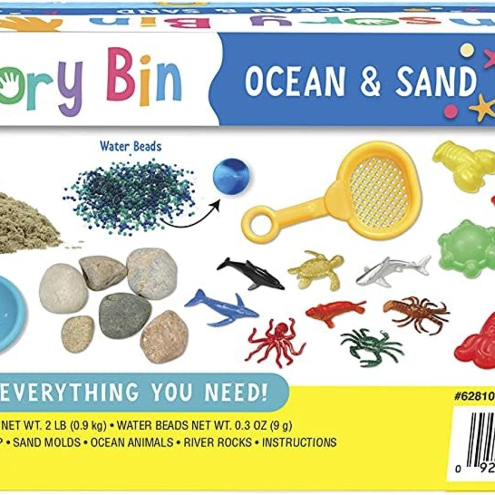 Creativity For Kids Sensory Bin Ocean and Sand
