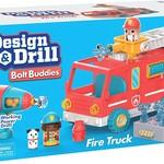 Educational Insights Design & Drill Bolt Buddies - Fire Truck