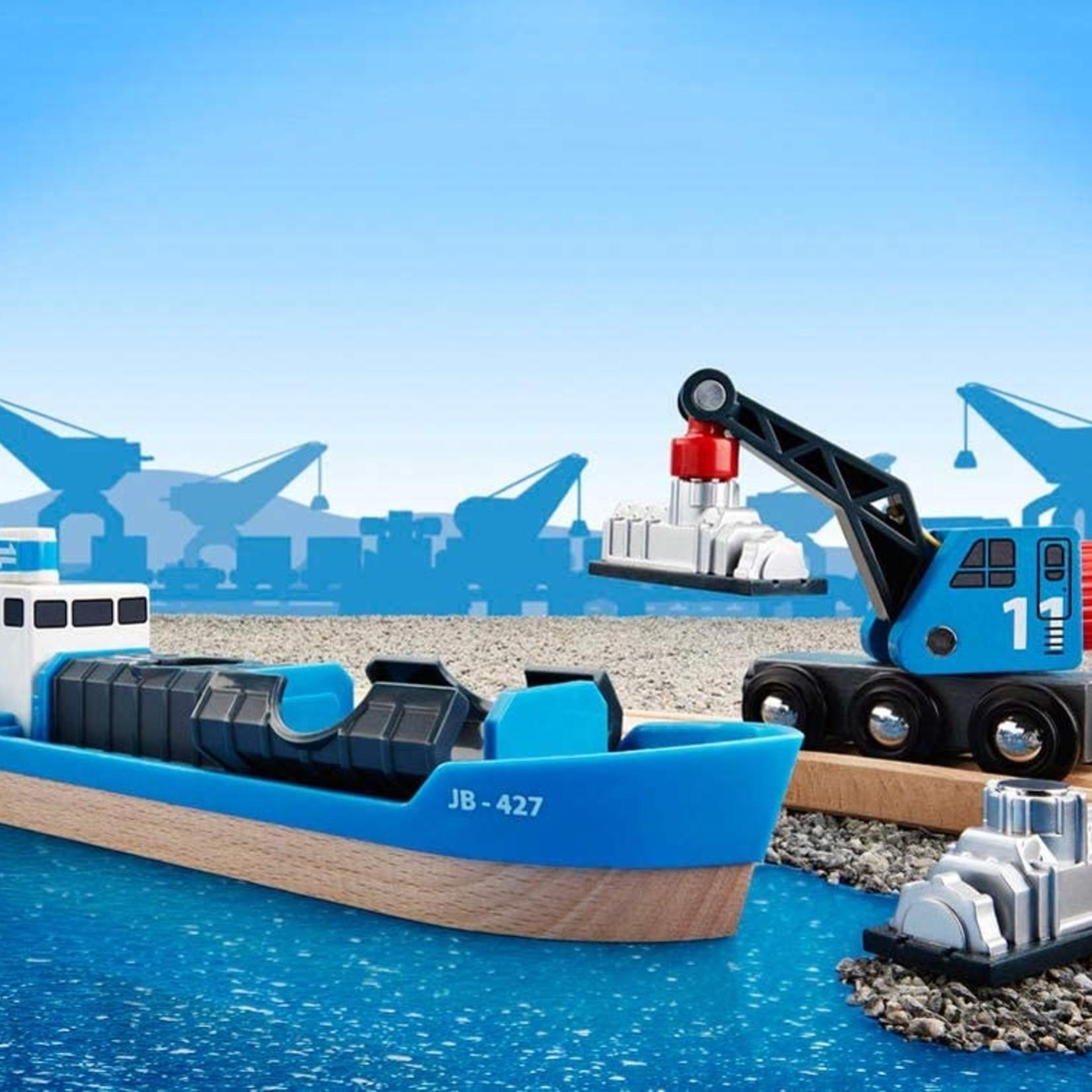 Brio Freight Ship & Crane