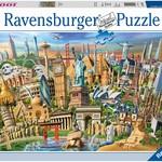 Ravensburger World Landmarks - 1000 pc