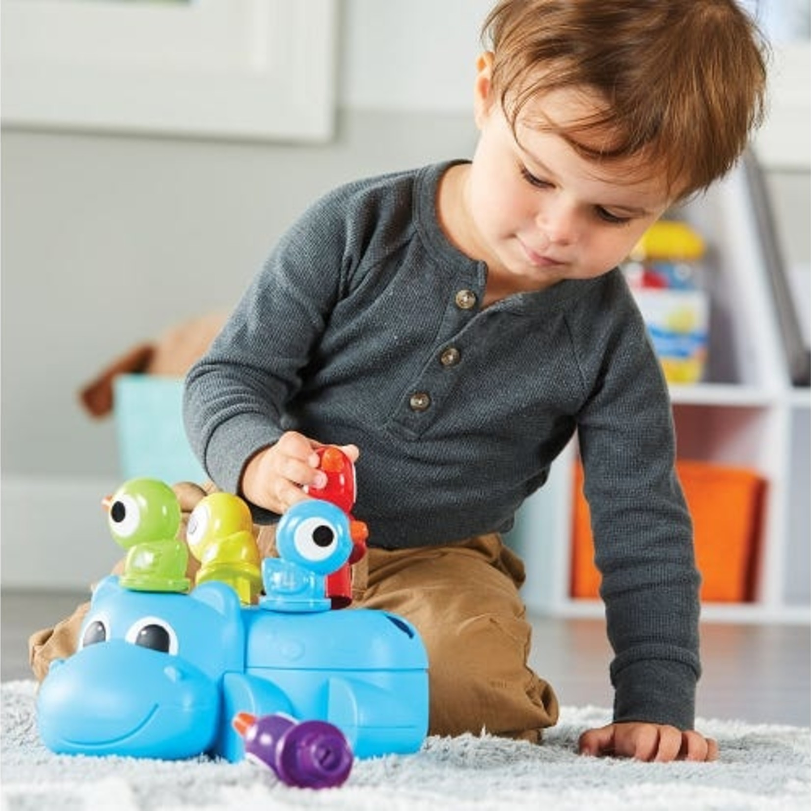 Learning Resources Huey the fine motor Hippo