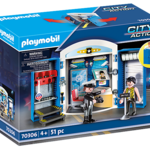 Playmobil Police Station Play Box - Playmobil 70306