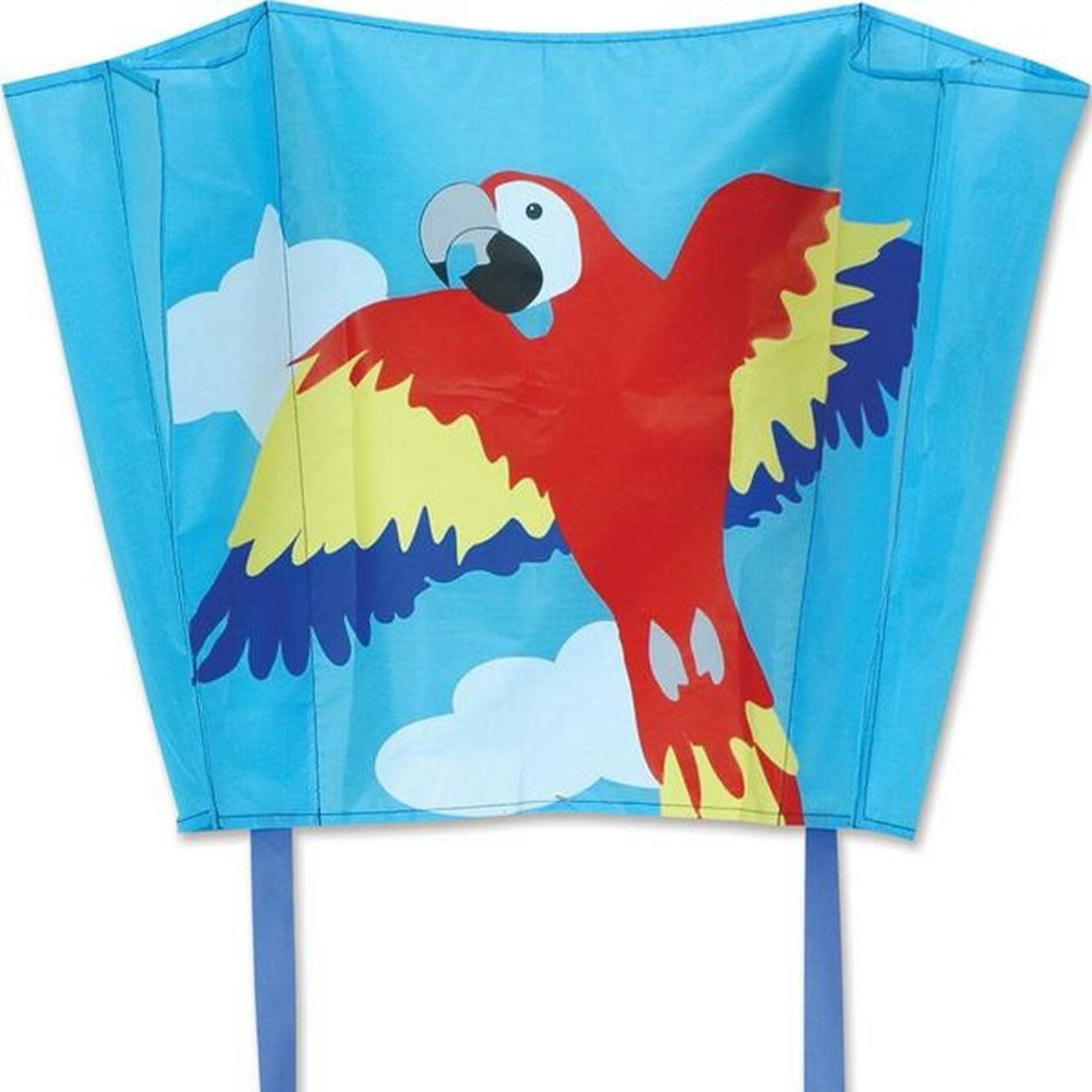 Premier Kites Big Back Pack Sled Kite- Macaw