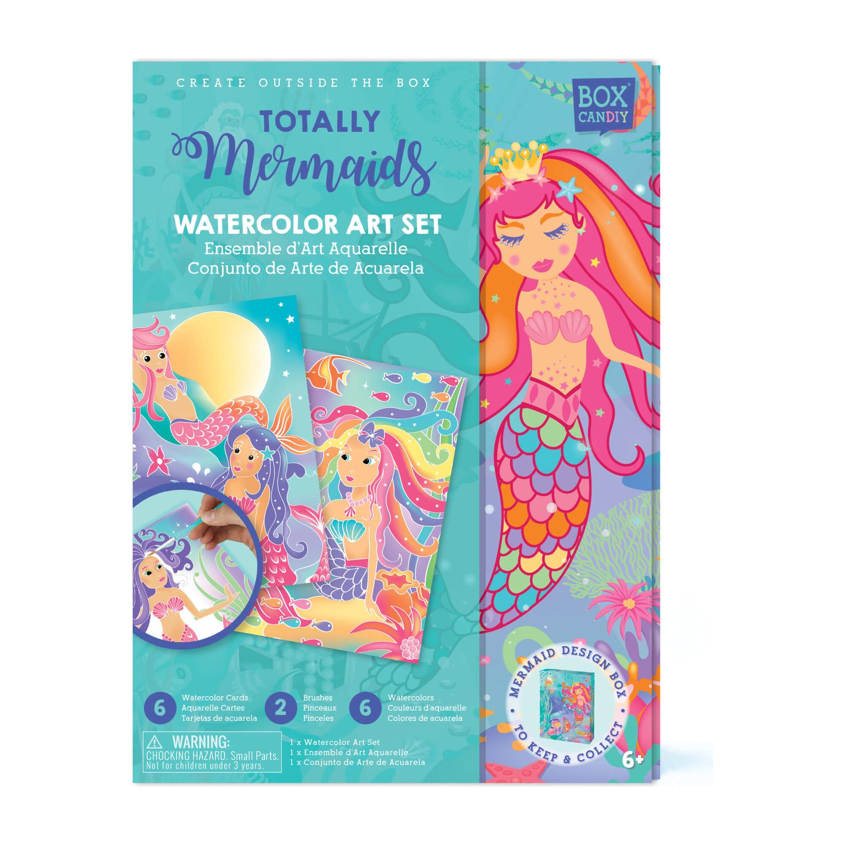 Handstand Kitchen Totally Mermaids Watercolor Art Set