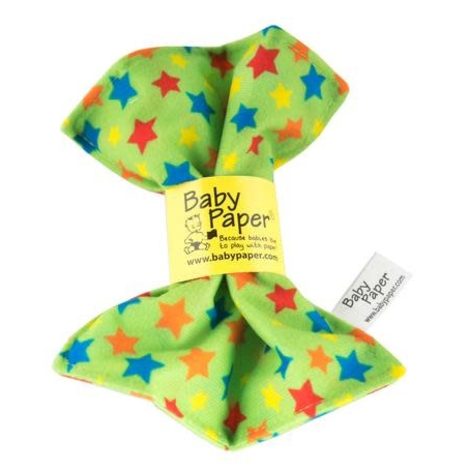 Baby Paper Baby Paper - Green Stars