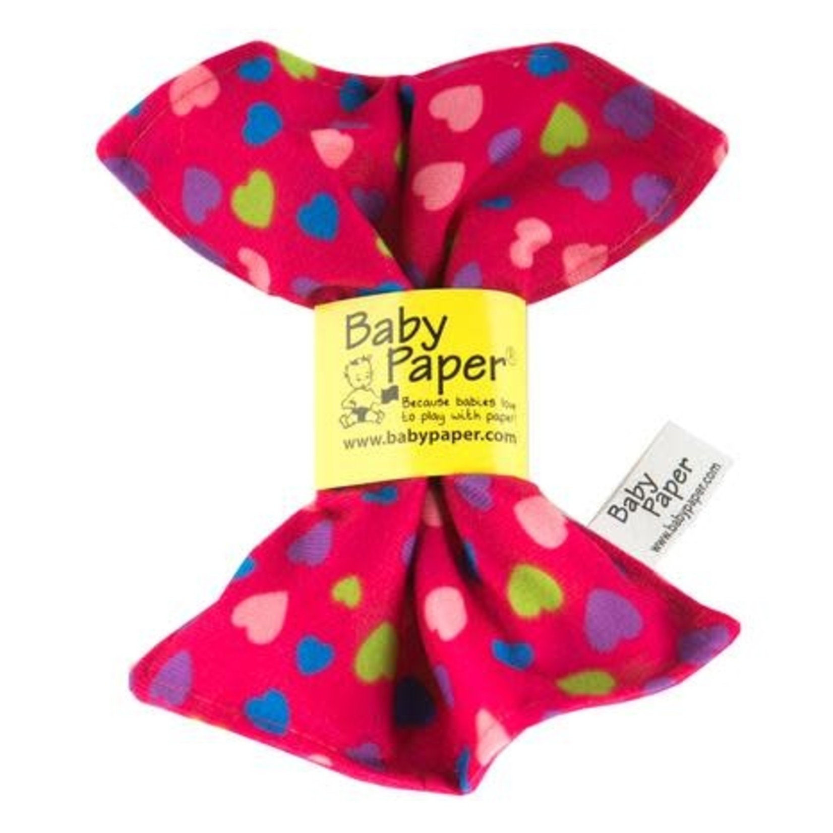 Baby Paper Baby Paper - Pink Hearts