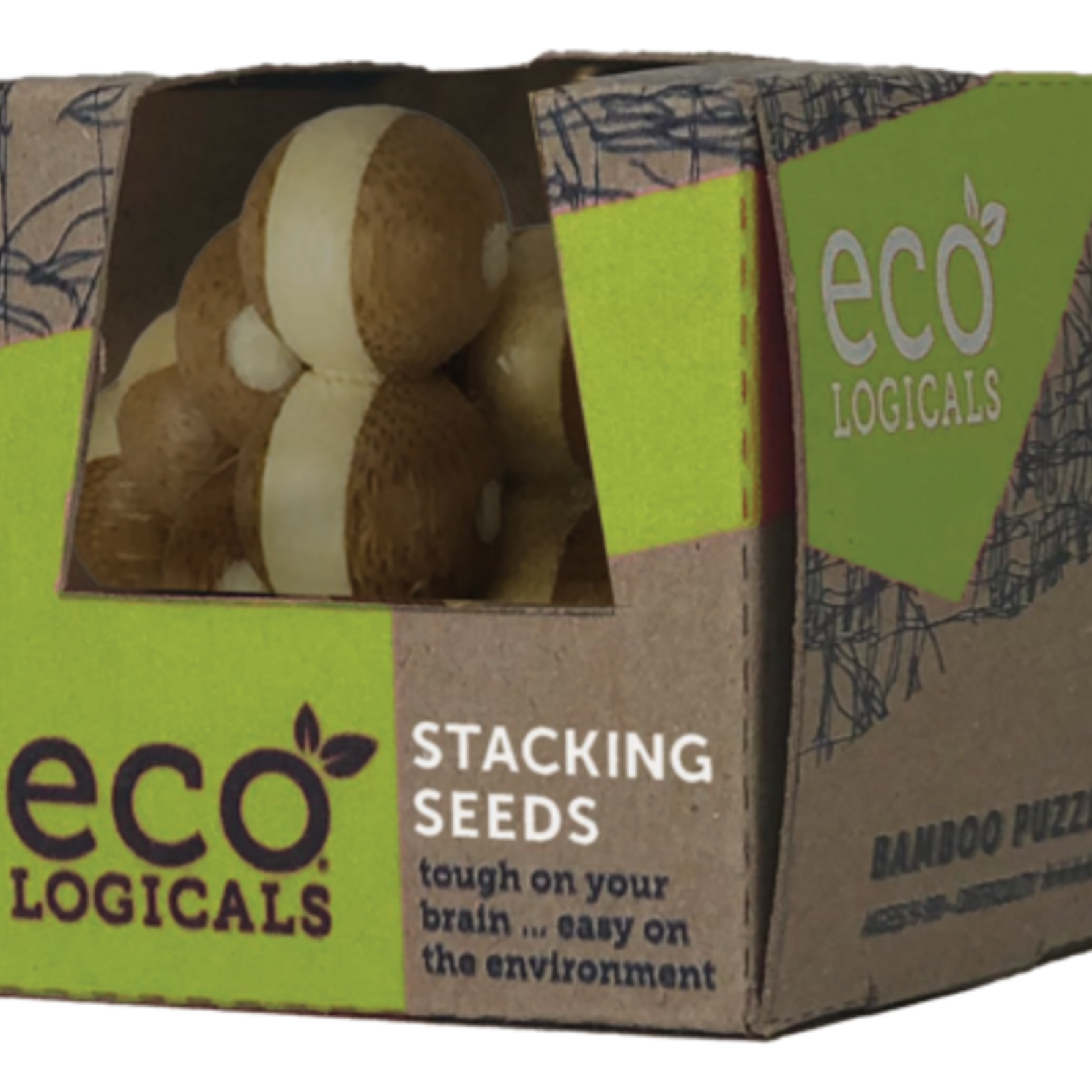 Project Genius Eco-Logicals Puzzle - Stacking Seeds