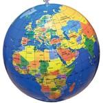 "Tedco Toys 12"" Inflatable Globe"