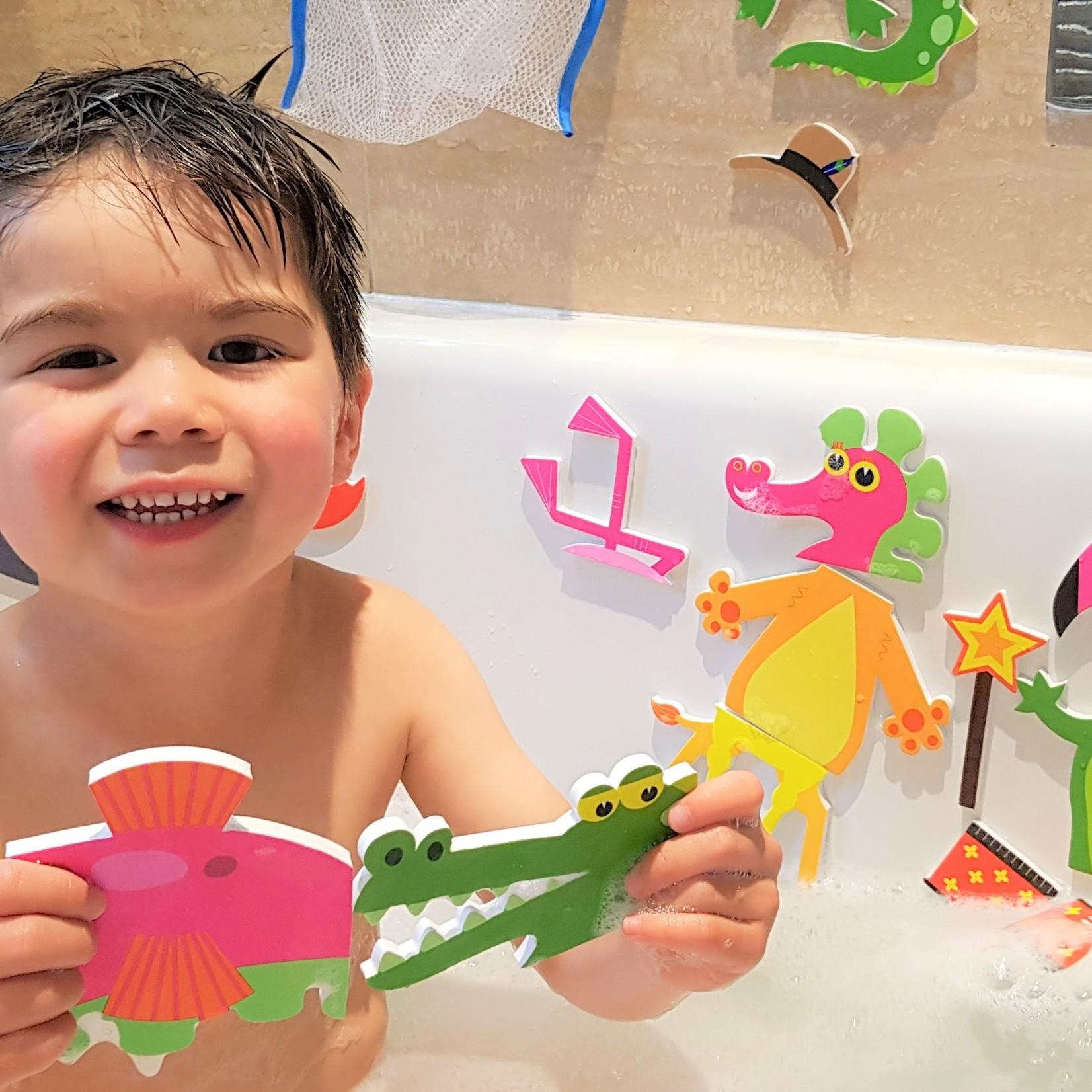 Buddy & Barney Bath Time Stickers - Weird & Wonderful Animals
