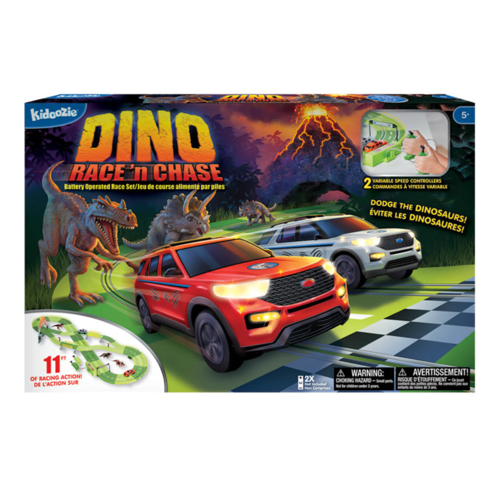 Kidoozie Dino Race and Chase