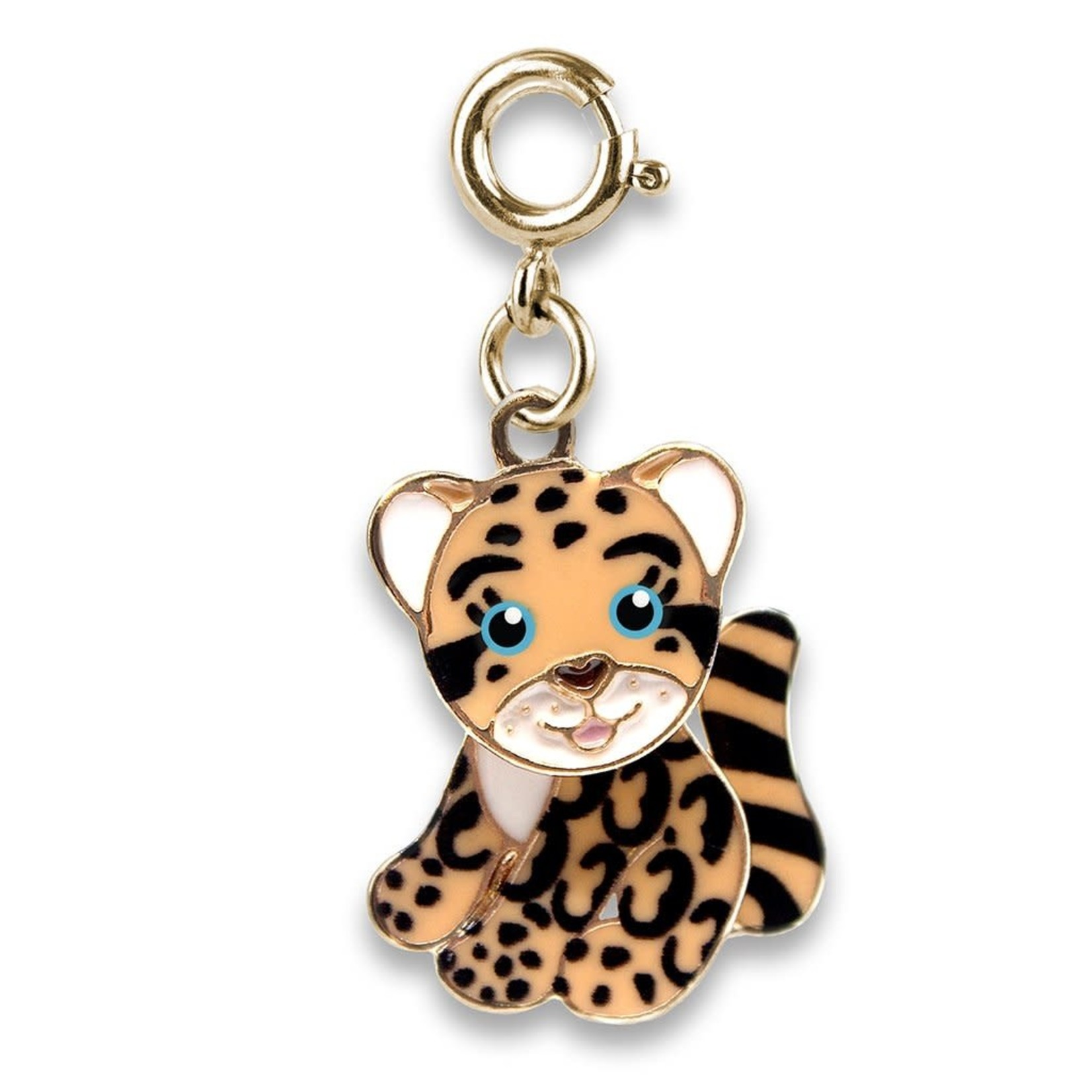 Charm It! Gold Cloud Leopard Charm