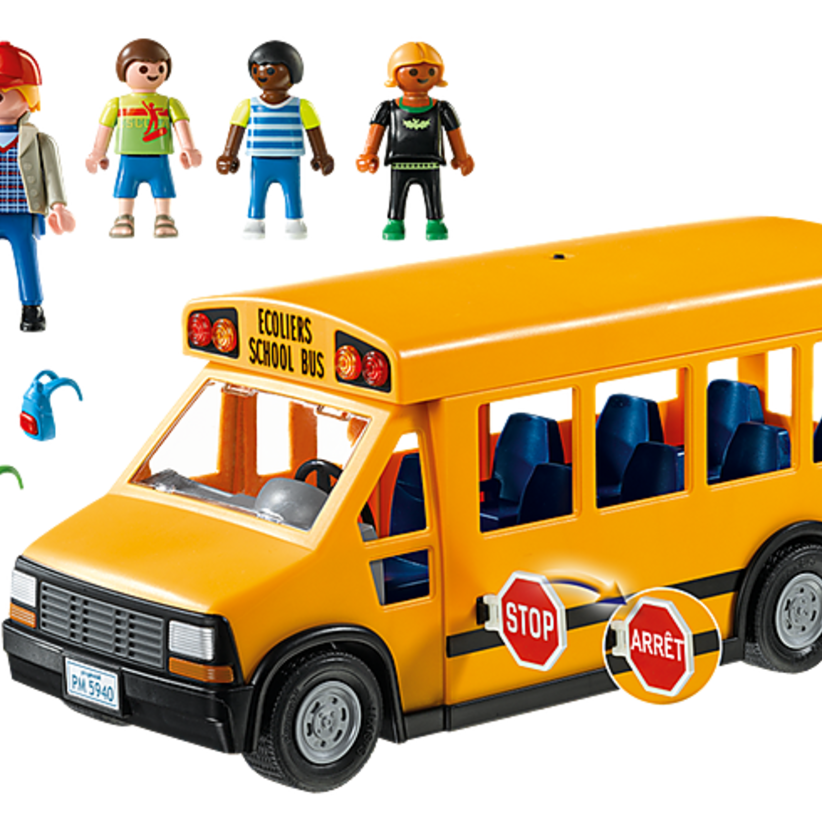 Playmobil School Bus - Playmobil 5680