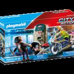 Playmobil Bank Robber Chase - Playmobil 70572