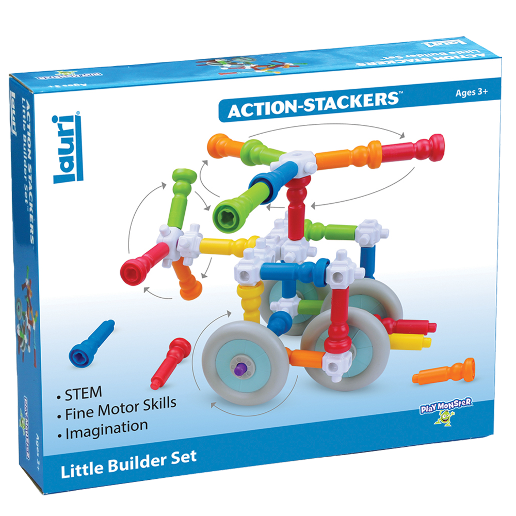 Playmonster Action - Stackers Little Builder Set