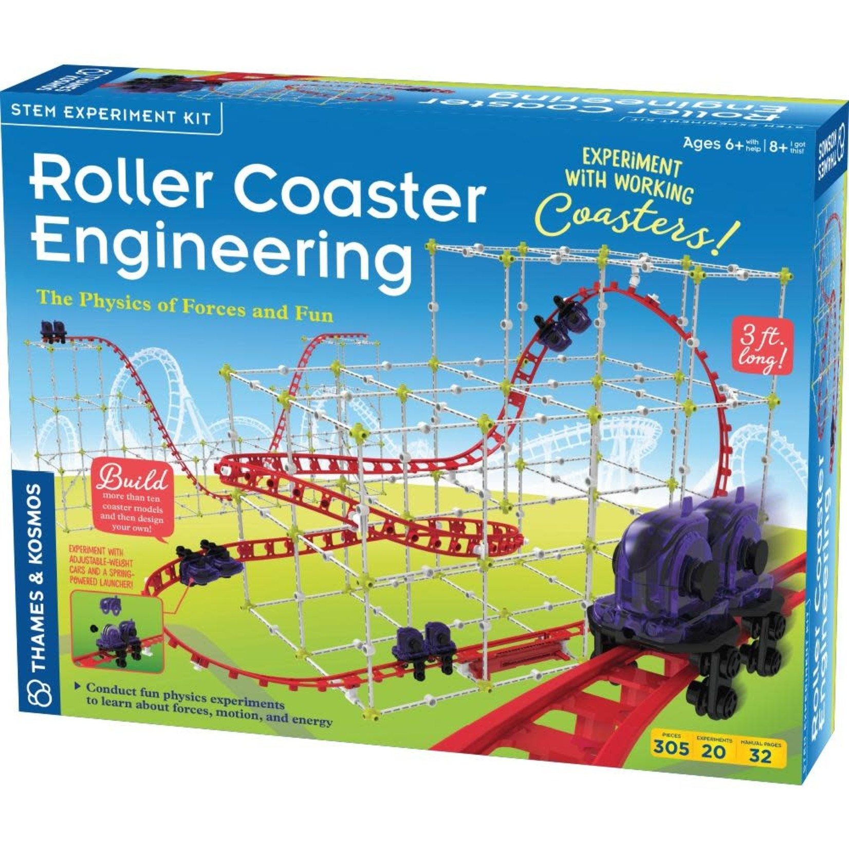 Thames & Kosmos Roller Coaster Engineering