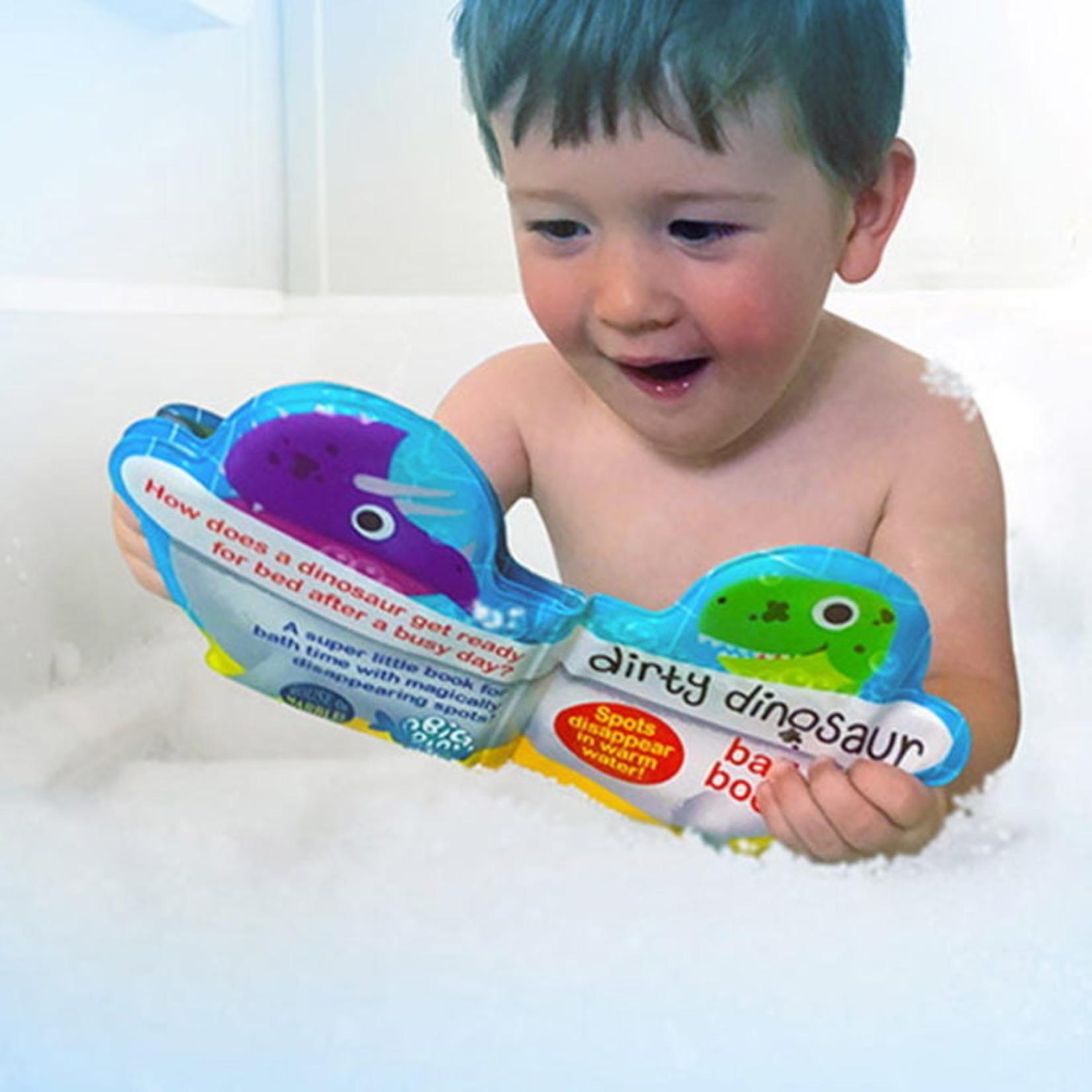 House of Marbles Dirty Dinosaur Bath Book