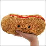 """Squishable Mini Hot Dog (8"""")"""