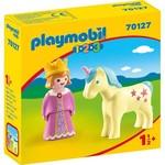 Playmobil Princess with Unicorn - Playmobil 1,2,3  70127