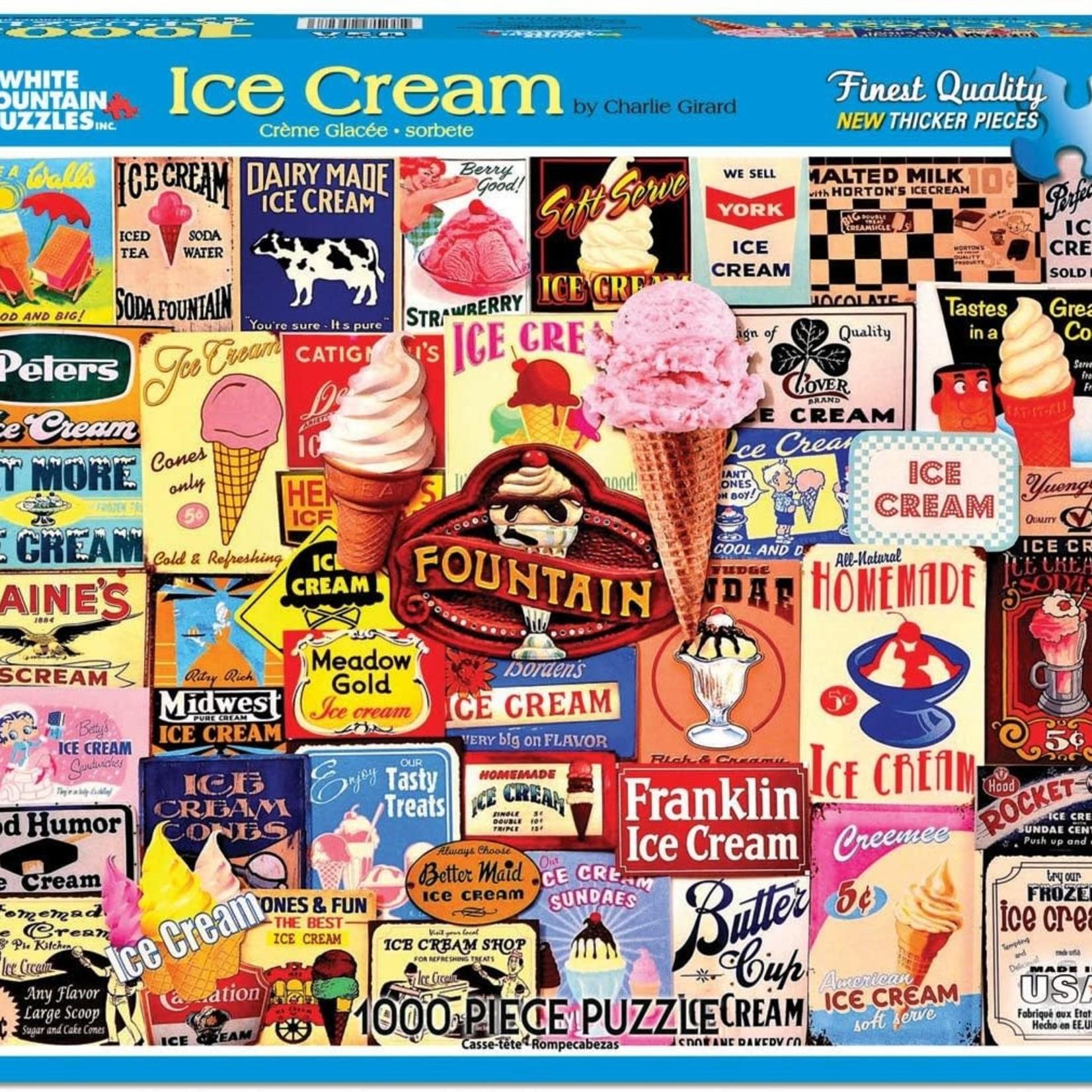 White Mountain Puzzles Ice Cream Bars - 1000 pc