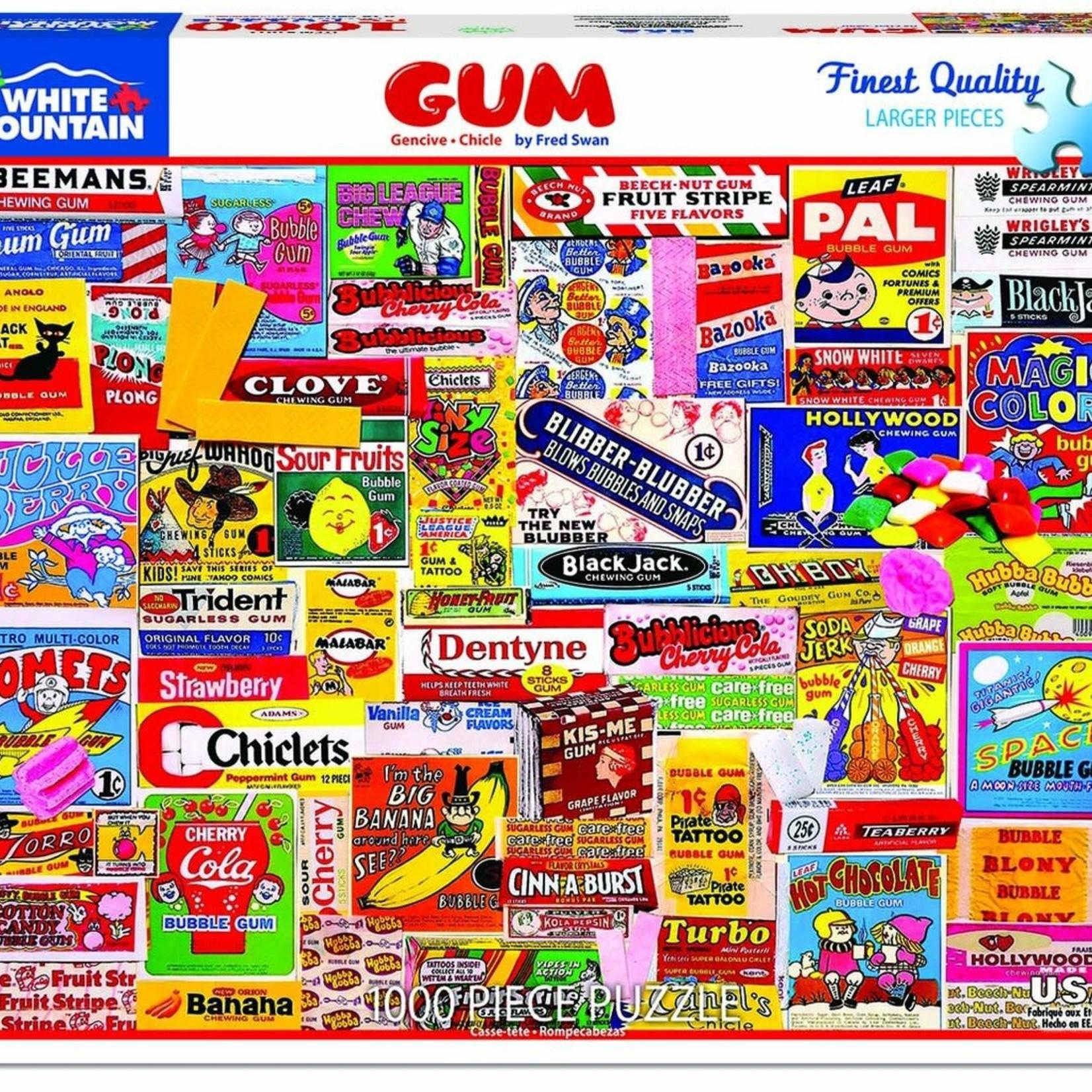 White Mountain Puzzles Gum - 1000 pc