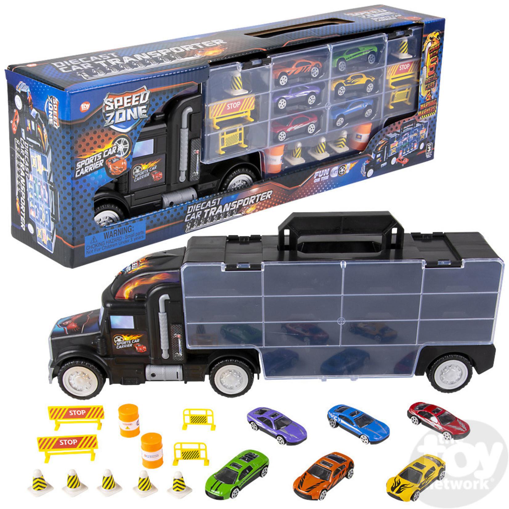 Toy Network Speed Zone Car Transporter