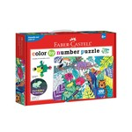 Faber-Castell Color by Number Puzzle - Jungle