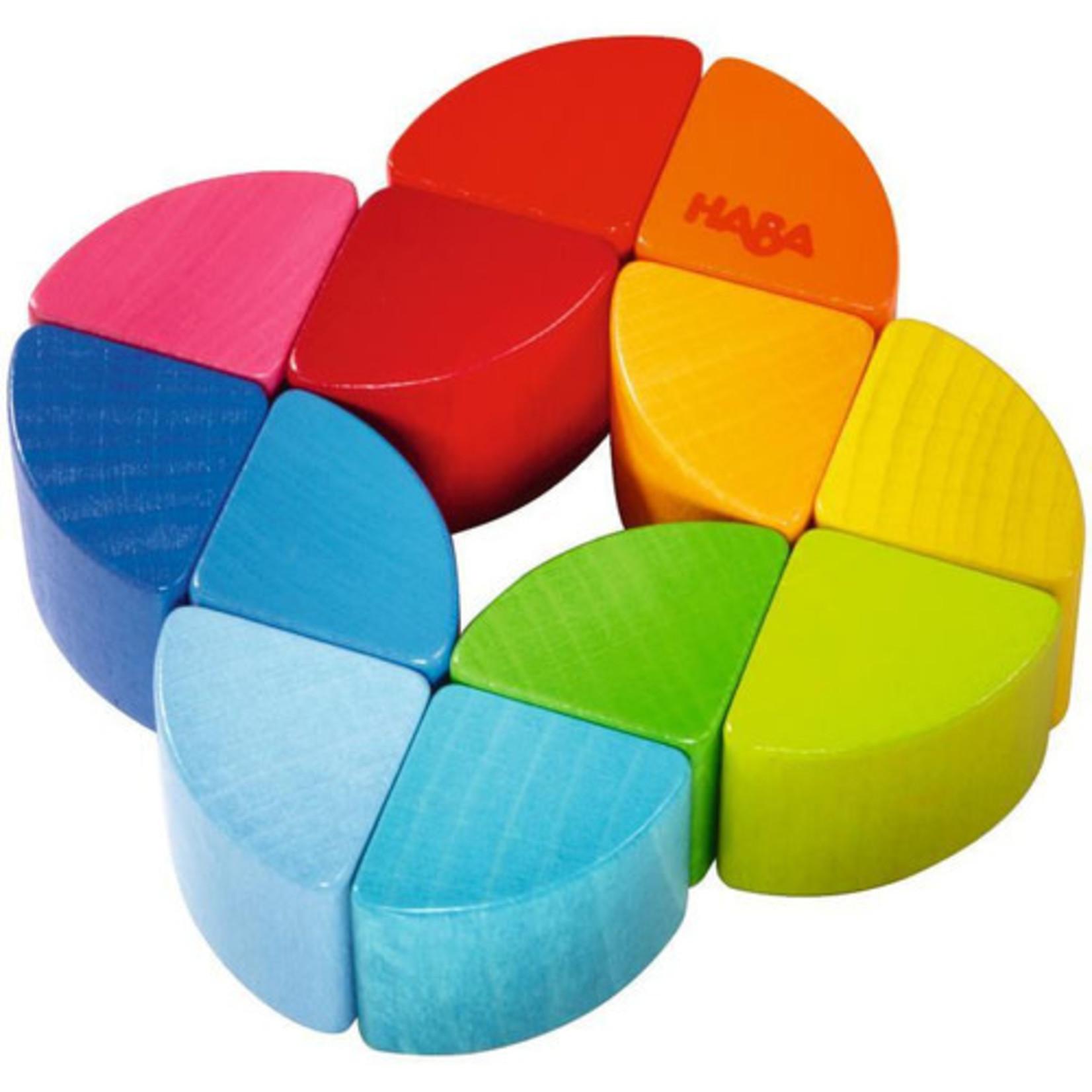 Haba Rainbow Ring Clutch Toy