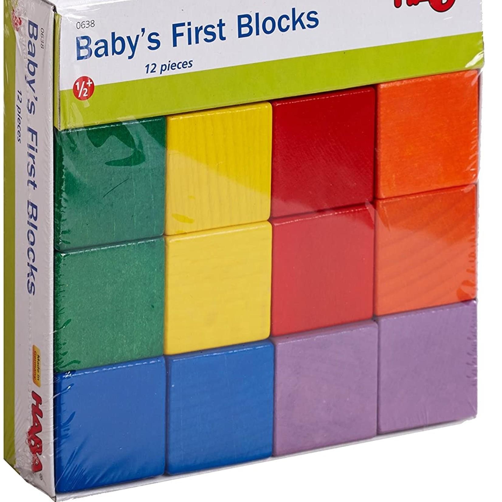 Haba Baby's First Blocks