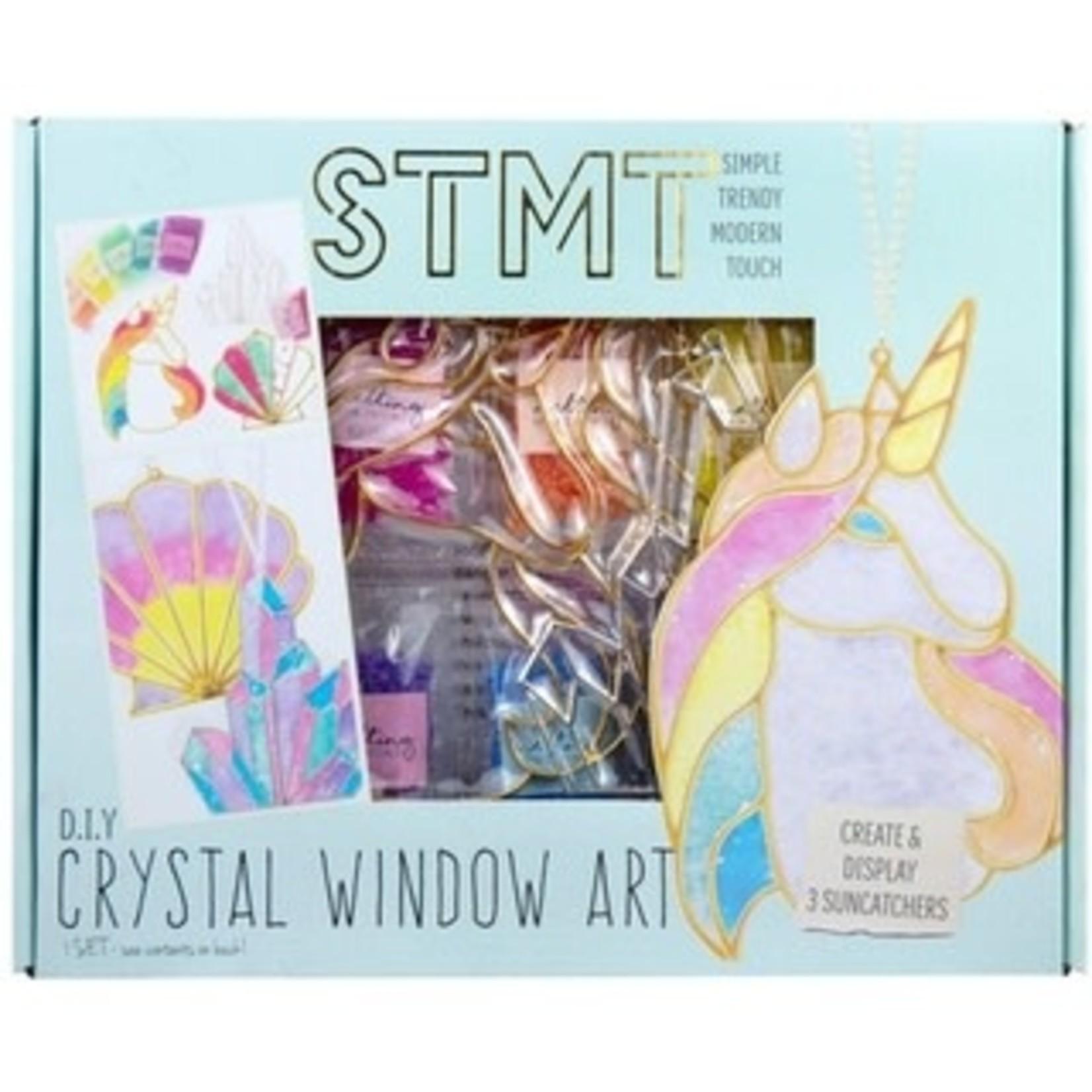 STMT DIY Crystal Window Art